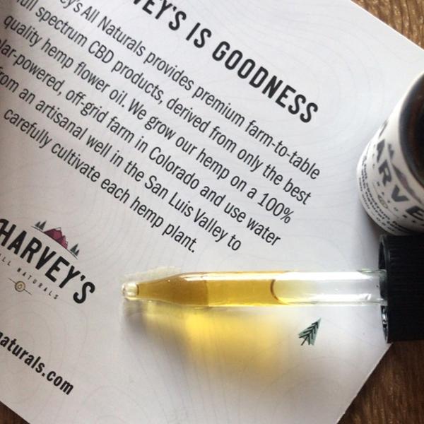 harveys cbd elixir dropper oil